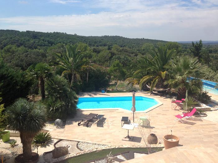 Une maison d'été dans le sud de la France